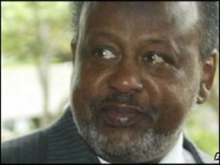 shugaba Ismael Omar Guelleh na Djibouti