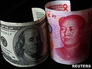 人民幣和美元