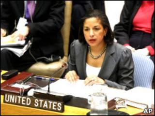 سوزان رایس، نماینده آمریکا در سازمان ملل