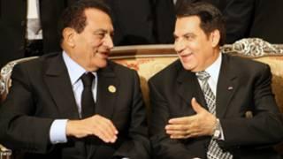 زين العابدين بن علي وحسني مبارك