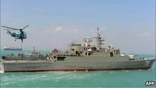Kapal Angkatan laut Iran
