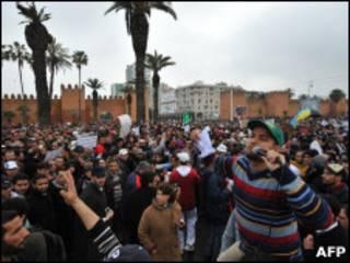 Protestas de Rabat