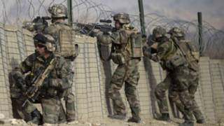 جنود من قوات الناتوفي افغانستان