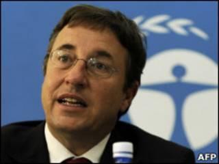 Achim Steiner, diretor-executivo do Unep