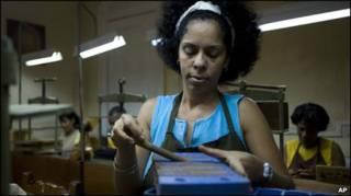 Табачное производство на Кубе