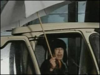 Mu'ammar Gaddafi na Libya