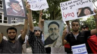 متظاهرون في ليبيا