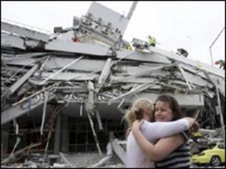 新西蘭第二大城市基督城3天前發生強烈地震
