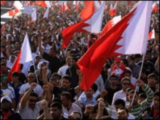 معترضین بحرینی