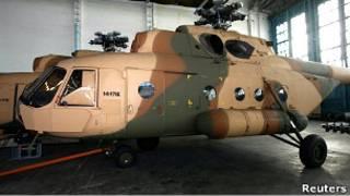 Вертолет Ми-8, предназначенный для американских ВМФ