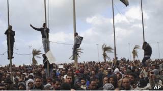 Восставшие в Бенгази