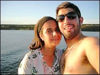 Angela Ragavani e Derek Piva (arquivo pessoal)