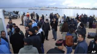 Warga Turki di Benghazhi
