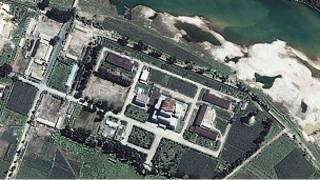 صورة لموقع نووي في كوريا الشمالية