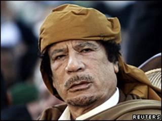 معمر قذافي