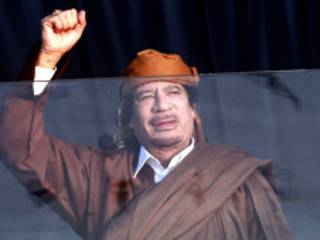 Kanar Muammar Gaddafi