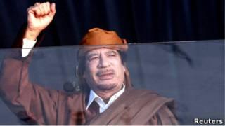 Муаммар Каддафи (13 февраля 2011 года)