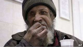 Бездомный из Ростова-на-Дону