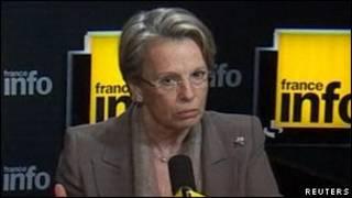 ميشيل آليوـ ماري وزيرة الخارجية الفرنسية