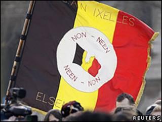 Protesta en Bélgica
