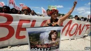 Protes soal Amazon