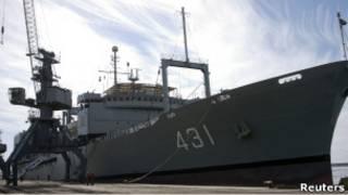 سفن حربية إيرانية