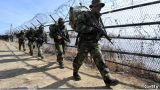 جنود من كوريا الجنوبية