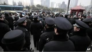 احتجاجات الصين