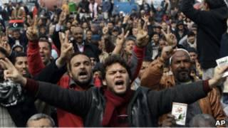 Народные протесты в Ливии