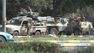 الجيش العماني في صحار (01 مارس 2011)