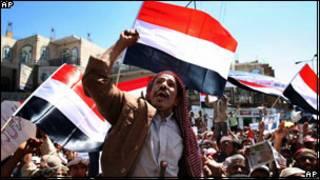 Protes anti pemerintah di Yaman