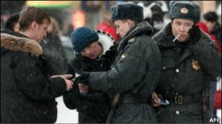 У Росії поліція вже кілька місяців