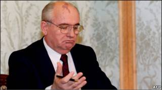 Михайло Горбачов у 1991-му