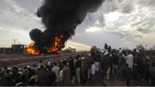 انفجار قرب بيشاور
