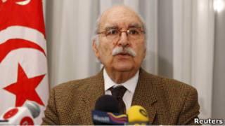 الرئيس التونسي بالنيابة فؤاد المبزع (27/02/11)