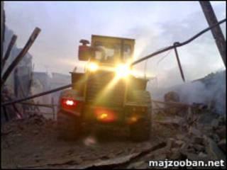 تخریب حسینیه دراویش