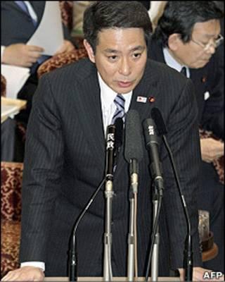 日本外交大臣前原誠司