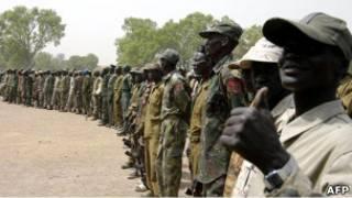 قوات تابعة للحركة الشعبية لتحرير السودان