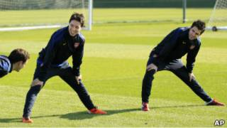 Fabregas na Nasri bari mu gusezerera Arsenal