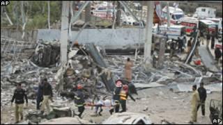 تفجير في فيصل آباد