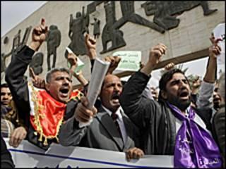 Masu zanga-zanga a Dandalin Tahrir