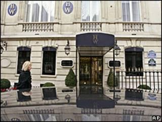 Loja Harry Winston de Paris (foto: AP, arquivo)