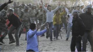 جاء اعلان البرادعي بينما اخلى الجيش ميدان التحرير بالقوة