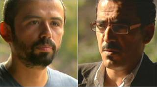 Goktay Koraltan và Feras Killani, phóng viên BBC