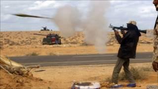 تصاعد حدة القتال في ليبيا