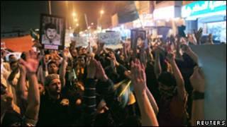 احتجاجات في السعودية