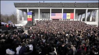 Встреча Джо Байдена с премьер-министром Молдавии Владом Филатом