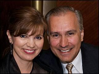 Marcela e José Lizarraga (Foto: Arquivo pessoal)
