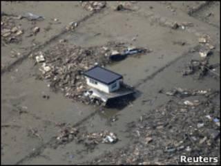 日本地震海嘯重災區