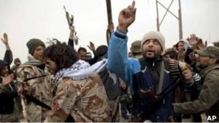 Ливийский повстанец